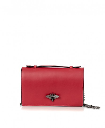 Leather crossbody for women 92728Cl