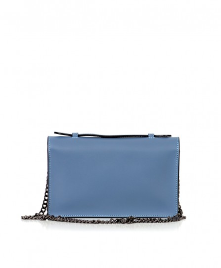 Leather crossbody for women 92728Bl