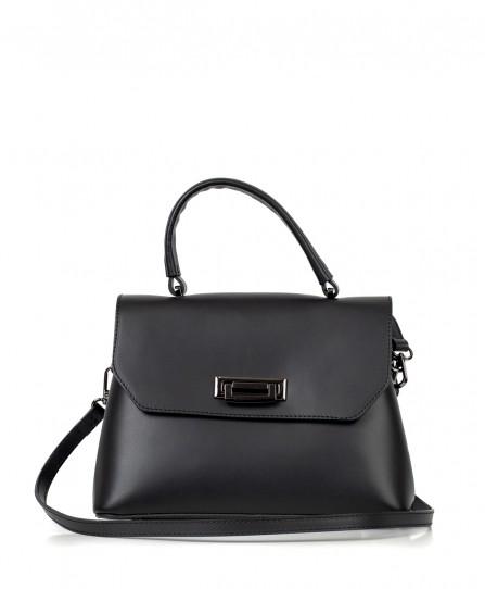 Кожаная женская классическая сумка 92672
