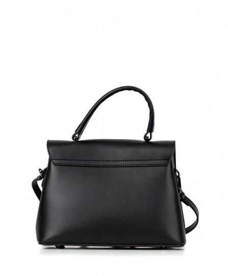 Шкіряна жіноча класична сумка 92672
