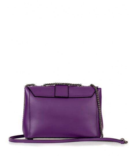 Шкіряна жіноча сумка 92454