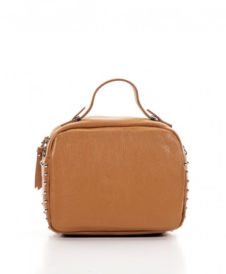 Leather crossbody for women 92123Br