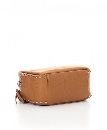 Шкіряна жіноча сумка через плече 92123Br