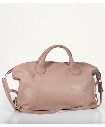 Кожаная женская мягкая сумка 92359P