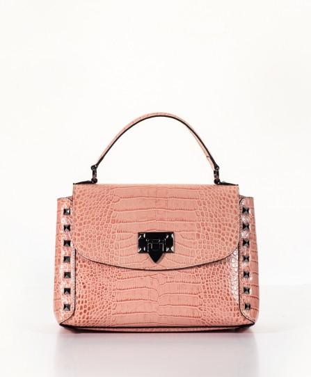 Кожаная женская сумка 91825P