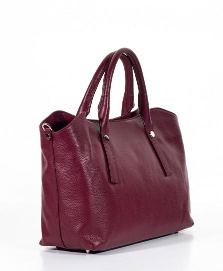 Кожаная женская мягкая сумка 93150B