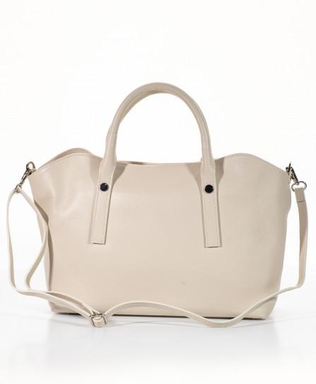 Шкіряна жіноча м'яка сумка 93150BE