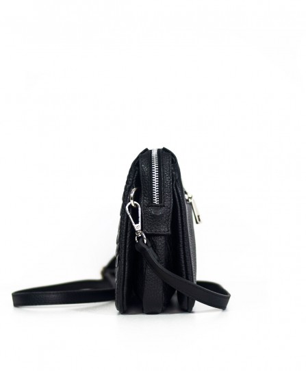 Шкіряна жіноча сумка через плече 93820