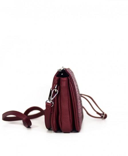 Шкіряна жіноча сумка через плече 93820B