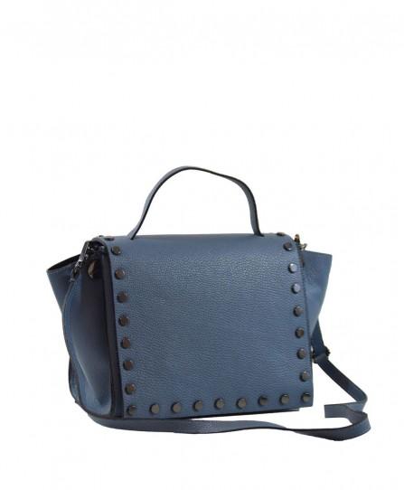 Шкіряна жіноча сумка 93763B