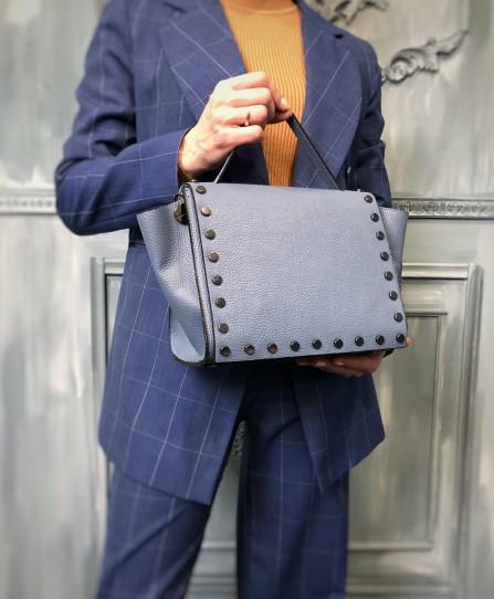 Шкіряна жіноча сумка 93763