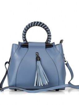 Leather satchel for women 93216