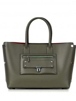 Шкіряна жіноча сумка 92622