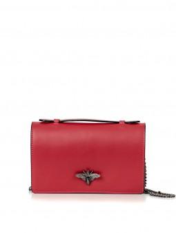 Шкіряна жіноча сумка-клатч 92728Cl