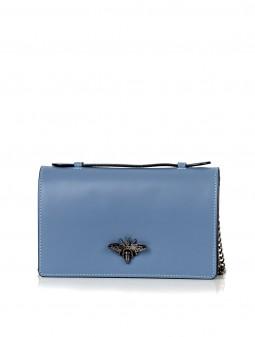 Шкіряна жіноча сумка-клатч 92728Bl