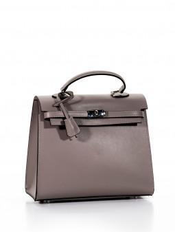 Шкіряна жіноча сумка 93158