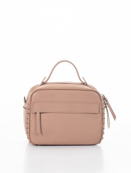 Leather crossbody for women 92123Be