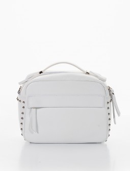 Leather crossbody for women 92123W