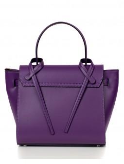 Шкіряна жіноча сумка 92765