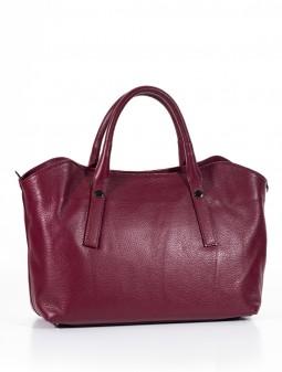 Шкіряна жіноча сумка м'яка 93150Cl