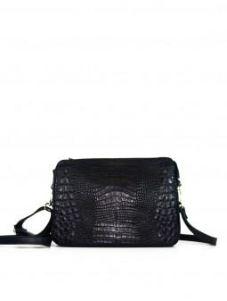 Кожаная женская сумка через плечо 93820