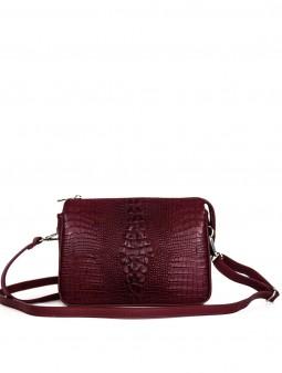 Кожаная женская сумка через плечо 93820B
